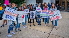 Protest against Kavanaugh