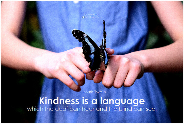 Kindness and grace