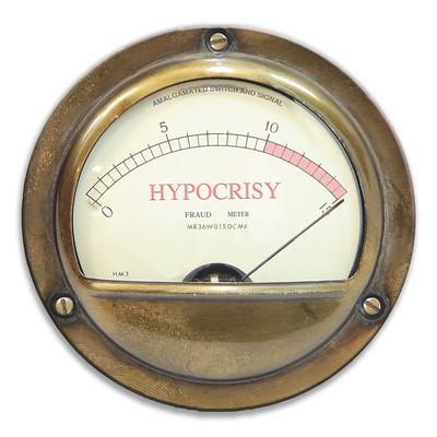 hypocrisy, Christmas, leftism
