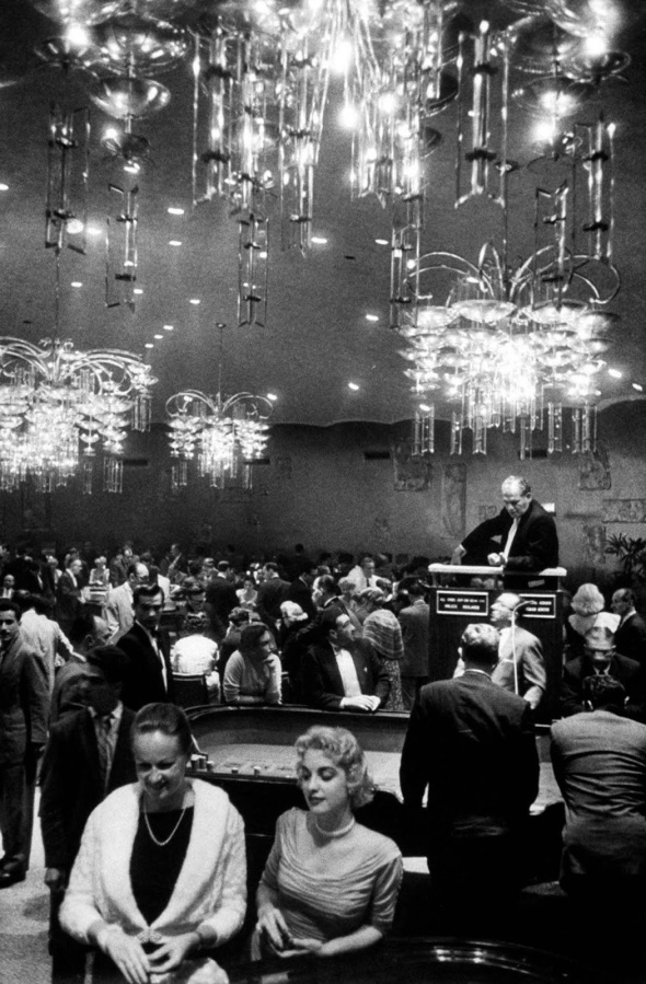 A Havana casino. 1958.