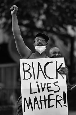 Black Lives Matter, George Floyd death, rioting